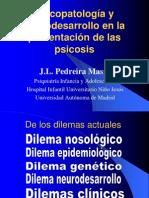 Psicopatología y Neurodesarrollo en la presentación de las Psicosis
