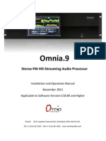 Omnia 9 Users Manual v 0.50.80