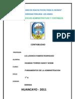 ACTIVIDAD Nº 1 FUNDAMENTOS DE LA ADMINISTRACION