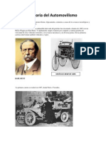 Historia Del Automovilismo