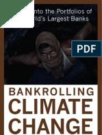 93 Climate Killer Banks Around the World