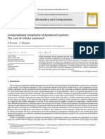 P. Di Lena and L. Margara- Computational complexity of dynamical systems