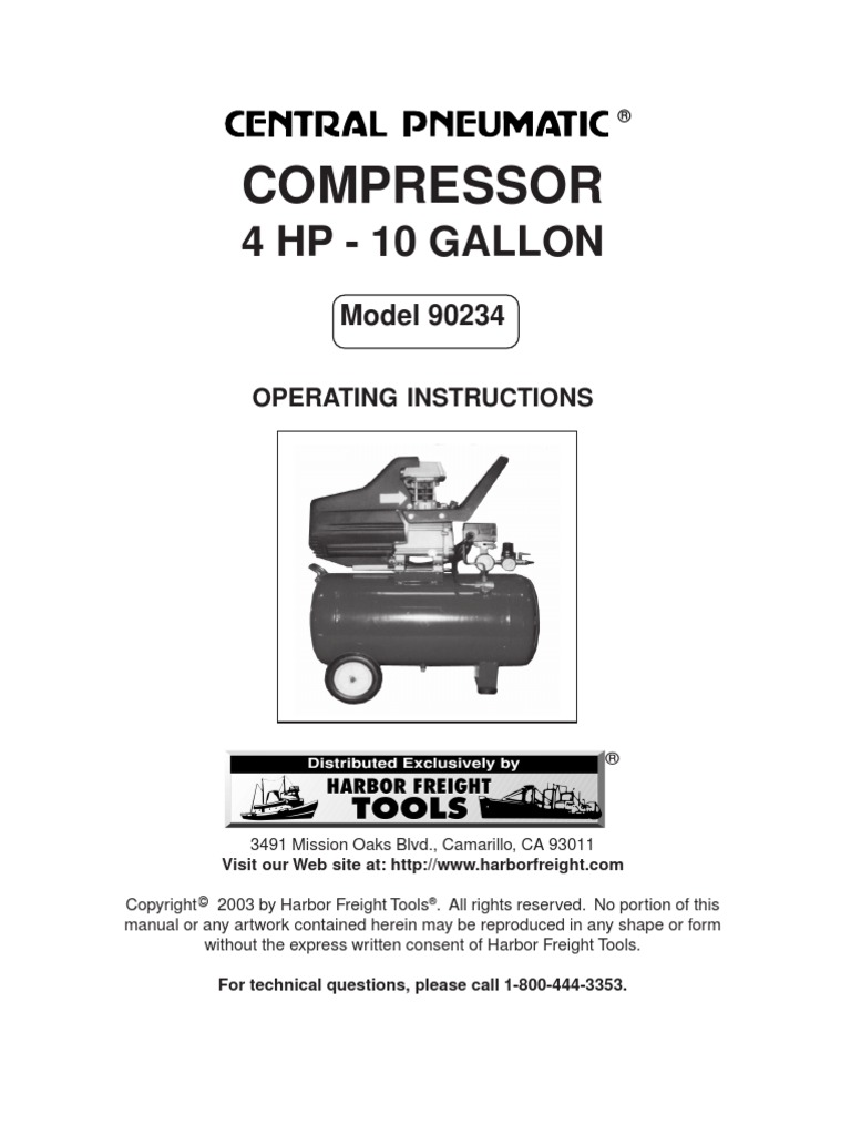 Central Phumatic - Compressor 90234 | Ac Power Plugs And Sockets | Valve