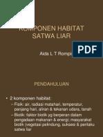 Komponen Habitat