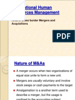 HRM in Mergers & Acquisitions