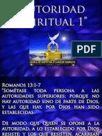 Autoridad Espiritual #1