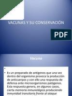 VACUNAS Y SU CONSERVACIÓN