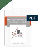 Manual TradutoresJuramentados MG 29 05 11