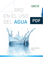 Ahorro en el uso del Agua