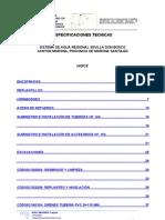 Anexo 4 especificaciones tecnicas