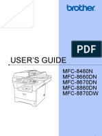 Brother Mfc-8860dn Manual