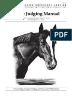 Horse Judging Manual