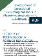 History of Instructional Tecnology