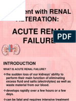 The Client With Renal Alteration