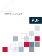 PASW Direct Marketing 18