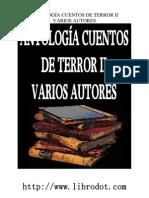 antología cuentos de terror ii