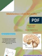melatonina y cliclo del sueño