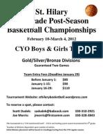 5th Basketball Championships 2012