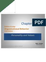 Chap05 - Organizational Behavi