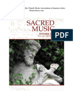 Sacred Music, 134.2, Summer 2007; The Journal of the Church Music Association of America