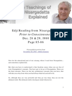 Edji Reading from Nisargadatta - Prior to Consciousness - Dec. 28 & 29, 1980 - pg. 86 & 87 - pc_12_28_1980_edji_029
