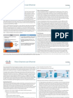 Fcoe by Cisco at a Glance