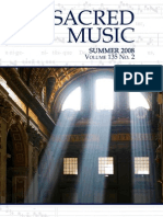 Sacred Music, 135.2, Summer 2008; The Journal of the Church Music Association of America