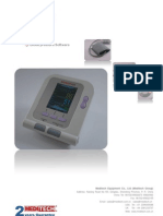 Blood pressure with Pulse Oximeter and PC  Software MD06X