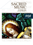 Sacred Music, 133.2, Summer 2006; The Journal of the Church Music Association of America