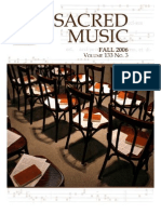 Sacred Music, 133.3, Fall 2006; The Journal of the Church Music Association of America