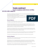 Sample Medicare Private Contract
