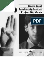 !Eagle Scout Leadership Service Project Workbook - PDF