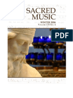Sacred Music, 133.4, winter 2006; The Journal of the Church Music Association of America