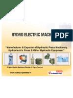Hydro Electric Machinery Maharashtra  India