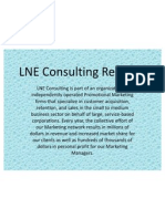LNE Consulting Reviews