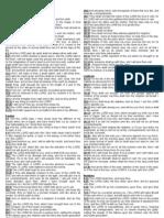 The Holy Bible (KJV) Condensed