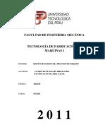 FACULTAD DE INGENIERIA MECÁNICA