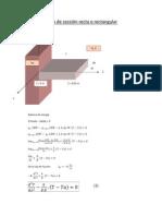 Aleta de sección recta o rectangular