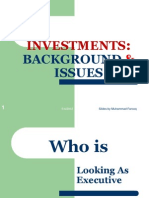Lect.1-Investments Background & Issues