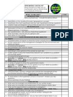 Gcse Course Work Checklist