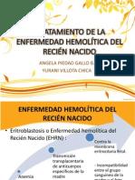 TRATAMIENTO DE LA ENFERMEDAD HEMOLÍTICA DEL RECIÉN