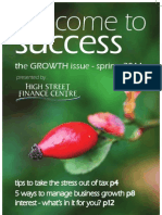 Welcome To Success - the GROWTH edition