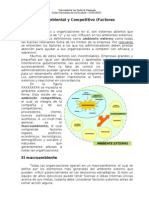 Diagnostico Ambiental y Competitivo (Factores Externos)
