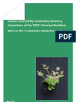 Lessons Learned by Community Recovery Committees of the 2009 Victorian Bushfires v1.0
