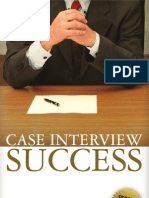 Case Interview Success Sample by Tom Rochtus