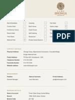 Camp Shonga Factsheet 2011