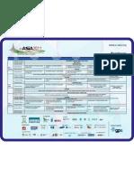 eAsia2011-SessionMatrix