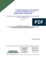 Control galápagos exóticos en la Comunidad Valenciana (2008)