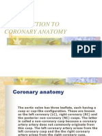 Coronary Anatomy