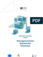 Indreptar European Asupra Managementului Satisfactiei Clientului